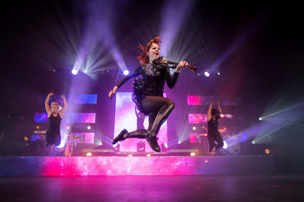 Phoenix, AZ, August 13, 2015 at Comerica Theater. Lindsey Stirling performs at Comerica Theater on August 13th, 2015. Credit: Leavitt Wells / Leave it to Leavitt Photography